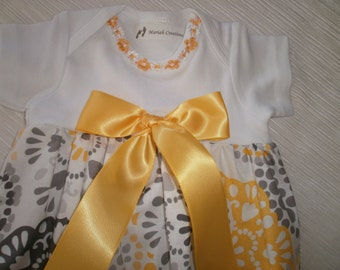 Baby Layette, Baby Gown, Yellow Layette, Baby Clothes, Newborn Layette, Coming Home Outfit, Sleep Sack Infant Gown, Photo Prop, Baby Shower