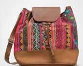 Women Casual Tribal Aztec Pink Sling Bag
