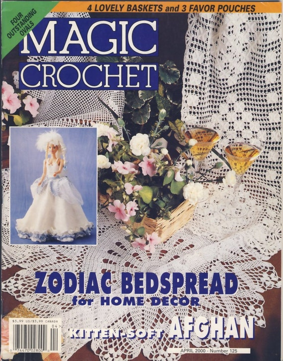 Magic Crochet Magazine : Magic Crochet Magazine April 2000 number 125 by susanbeingsnippy