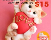 Kitten Fondant Topper Tutorial