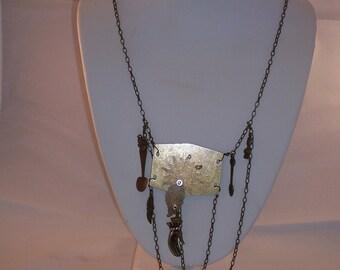 Steampunck necklace