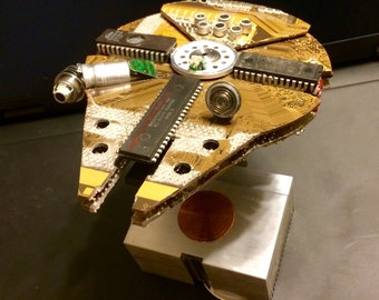 Millennium Falcon, ver 1.4, Created From Junked Computer Parts PREORDER
