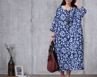 Oversized Loose Fitting Long Maxi Dress, Gown, Oversized Dress, Maternity Clothing