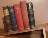 Slanted Walnut Book Holder
