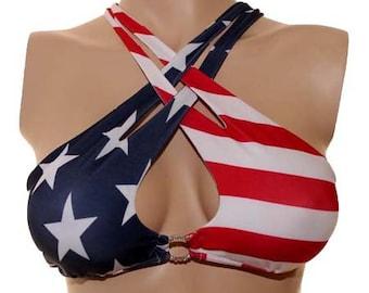 USA Criss/Cross Top