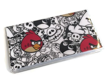 Checkbook Cover Angry Birds