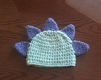 Dino Crocheted Baby Beanie