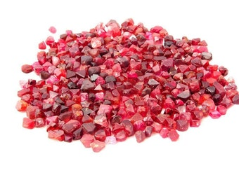 5ct+ Wholesale Lots of Red Spinel from Burma