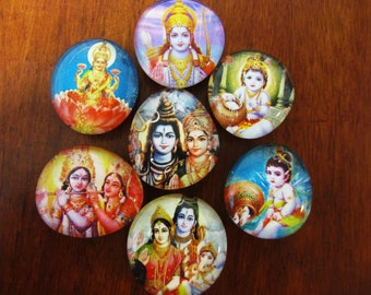 HiNDU GODS and GODDESSES MAGNETS