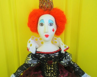 """Queen of Hearts -Fairy-tale character from """"Alice in Wonderland"""""""