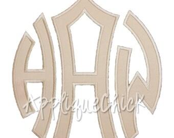 Louise Applique Monogram Alphabet