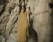 Hemp Cotton Light Brown Dress