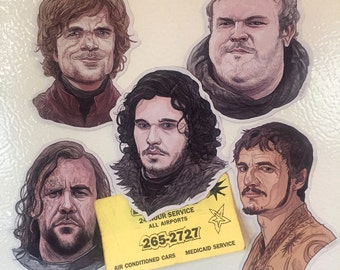 Game of Thrones Fridge Magnet Set