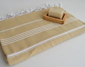 Shipping with FedEx - Classic - Beach blanket, Picnic blanket, Sofa throw, Tablecloth, Bedcover - Bathstyle - Beige