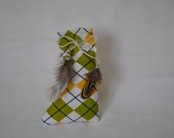 catnip cat toy sock