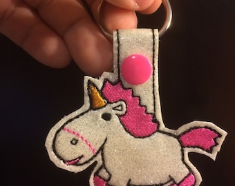 Its so fluffy key chain