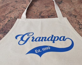Father's Day Apron, SHIPS FAST and FREE, Free Personalization