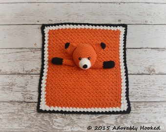 Fox Lovey, Security Blanket, Blankie, MADE TO ORDER