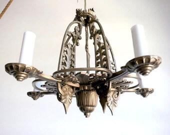 Antique Deco Chandelier