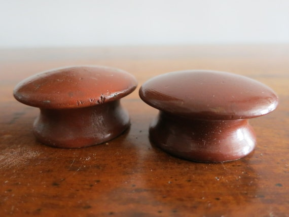 Set of Farmhouse Wooden Cabinet Pulls