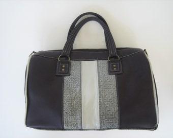 Eggplant Leather Doctor's Bag