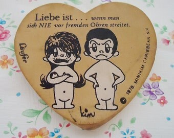 Minikim Heart Shape 80s Eraser. Love is...