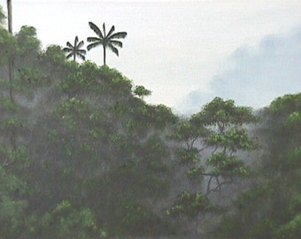 Rainforest Matted Print