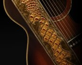 Guitar Strap,  leather guitar strap: Legend Guitar Strap