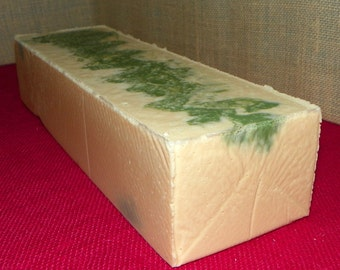 Patchouli Whole 3.5 Pounds Milk Soap Loaf - Cold Process Soap with Argan Oil and Shea Butter