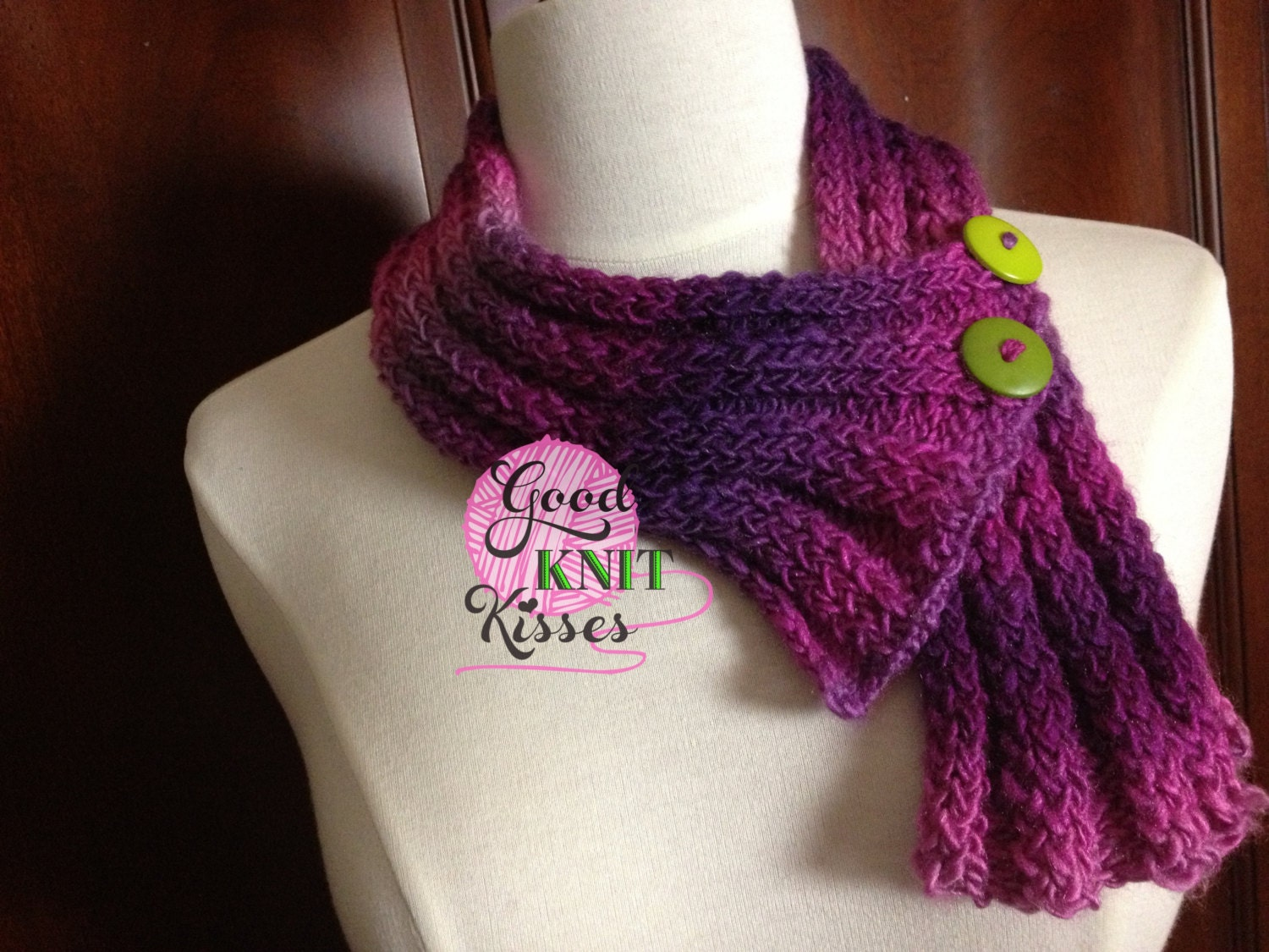 Loom Knit Neck Warmer PATTERN