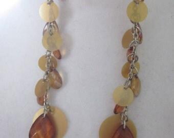 Coppertone dangling earrings