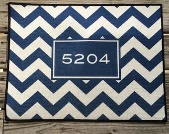 Personalized Door Mat Monogrammed Custom Rugs and Mats Indoor Outdoor Hostess Gift Ideas Welcome Mat