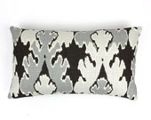 ON SALE Kelly Wearstler Bengal Bazaar 14 X 24 Pillow in Graphite (Both Sides)