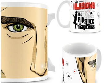 GOB Bluth Illusions Mug - Funny Mug - The Bluth Company - Pop Culture - Cult TV - Inspired by Arrested Development