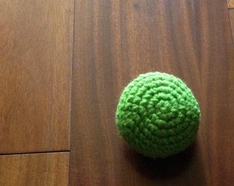 Lime Green Hacky Sack