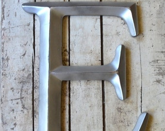 Metal Letters For Wall Decor Gorgeous Metal Wall Decor Letters  Etsy Design Decoration