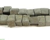 Aluminum Cube Trade Beads Ethiopian Africa 96627 SALE WAS 29