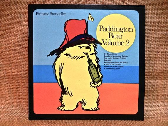 Paddington Bear Volume 2 1975 Vintage Vinyl 2 Lp Gatefold