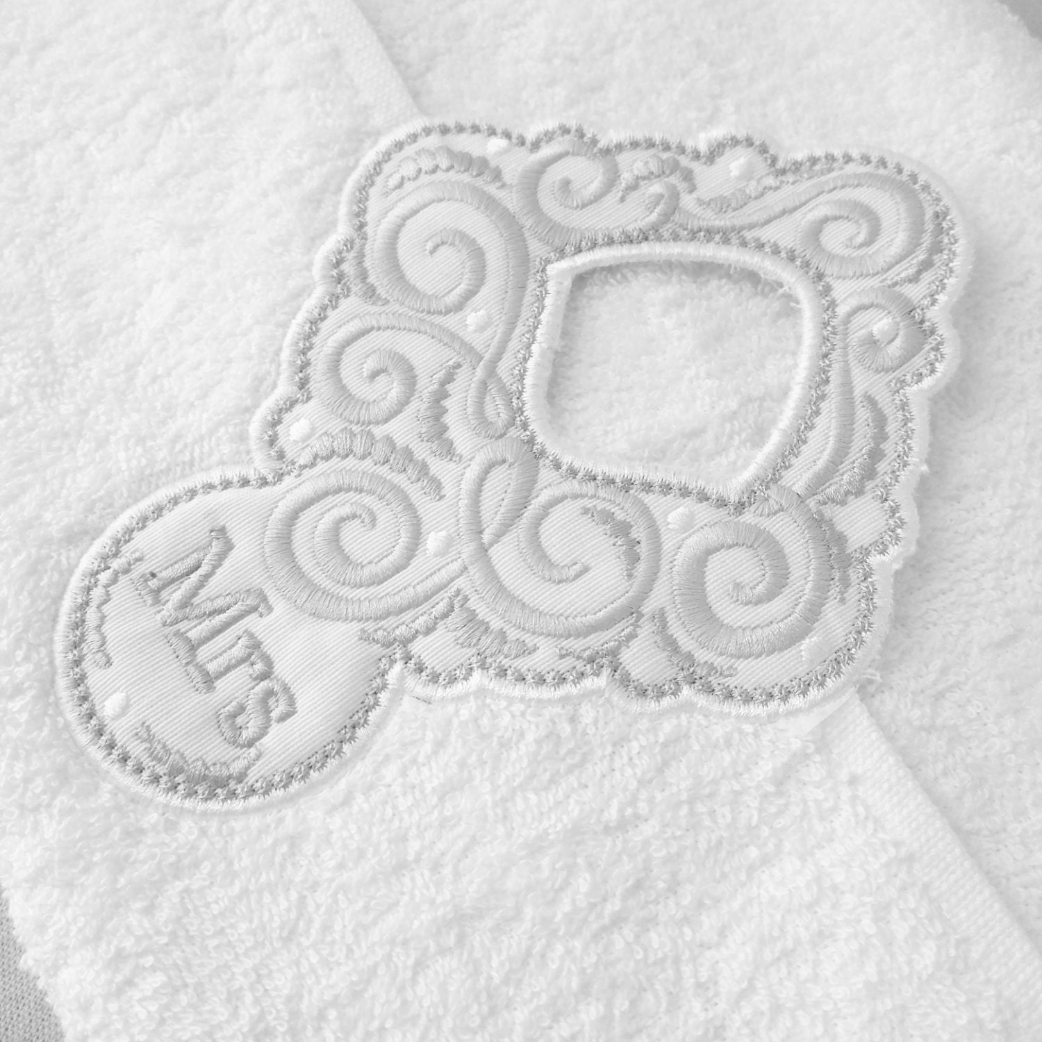 Wedding gift mr and mrs towel hanging hole made to mach