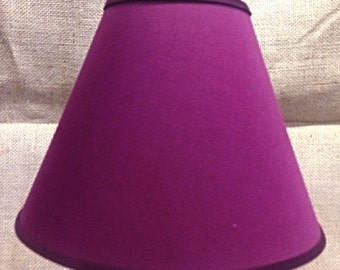 Solid Burgundy Lamp Shade