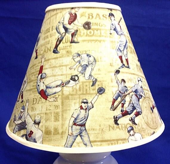Vintage Baseball Lamp 9