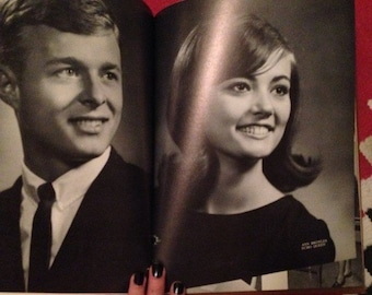 Vintage yearbook The Echo 1966 60s Missouri