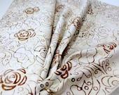 Quiltsy Destash Party - Benartrex Batik , Natural Yardage , By The Yard , 100% Cotton