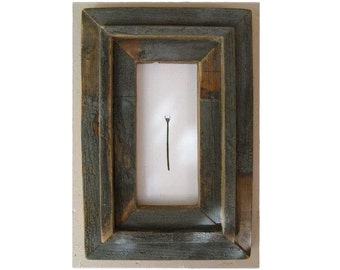 Lombardy Lavender .  . framed in weathered wood