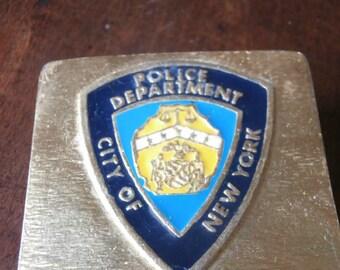 New York City  Police Belt Buckle