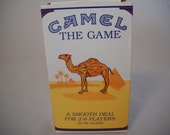 Vintage Camel The Game/Joe The Camel Card Game/Dice Game