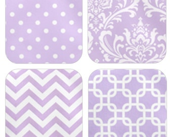 Swatches - LAVENDER - fabric swatches - FREE SHIPPING