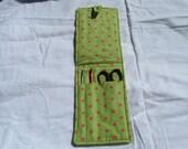 Crochet Hook Case Crochet Hook Holder Crochet Hook Organizer Crochet Needle Case to go