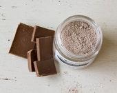 Chocolate Facial Mask - All-natural - cocoa - clay - coconut milk - hydrate - renew - exfoliate