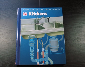 Time Life Books Home Repair and Improvement Series, Printed in the 1990's, How To Books, Kitchen Design